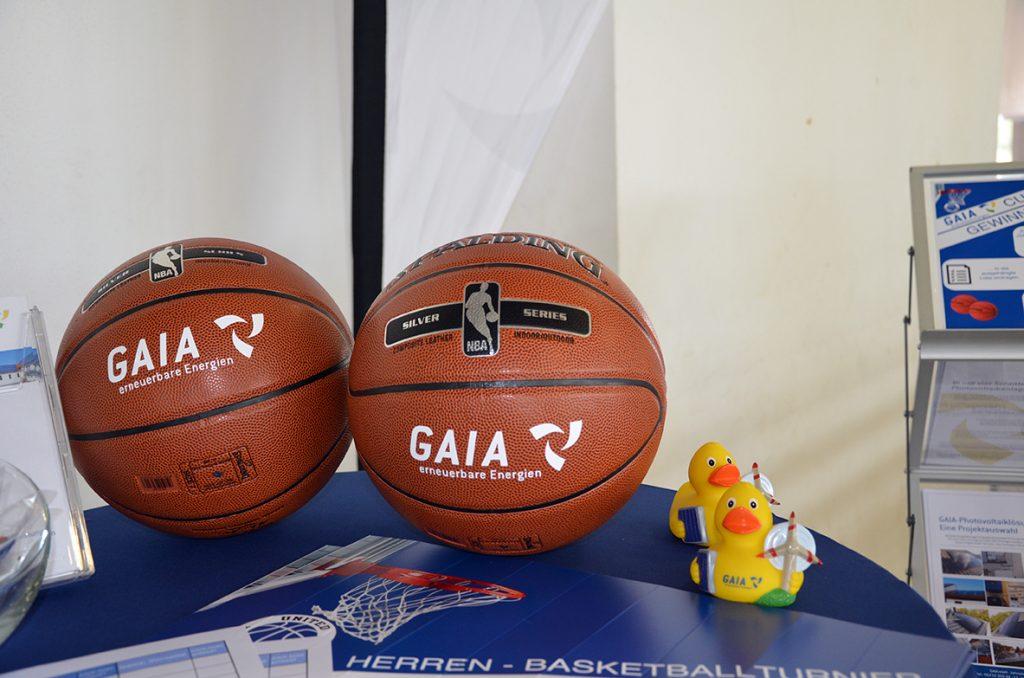 GAIA Cup 2018 Publikumspreise Basketbälle