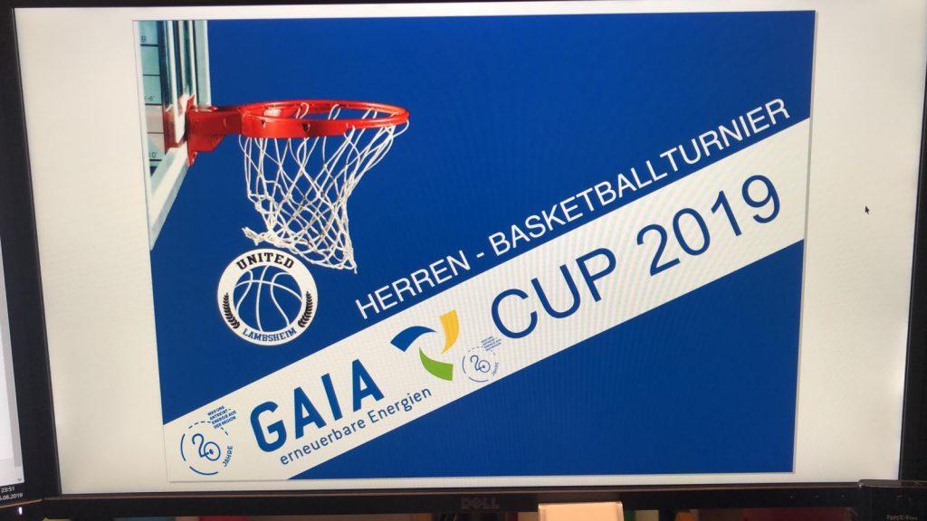 Klatschklappe GAIA Basketballturnier 2019